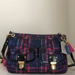 Coach Poppy Hippie Crossbody Bag